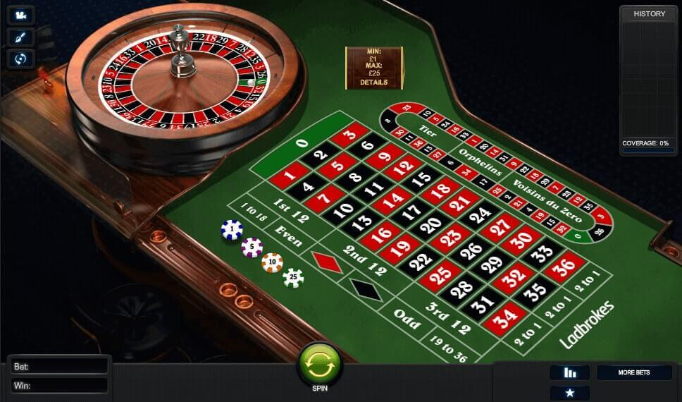 Maximum bet ladbrokes roulette